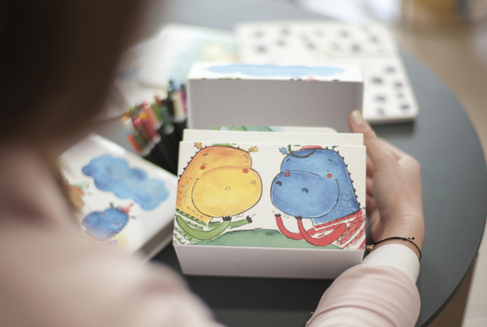 pudełko Momo i Kiki