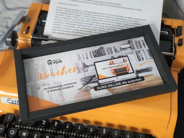 Kurs selfpublishing voucher prezentowy